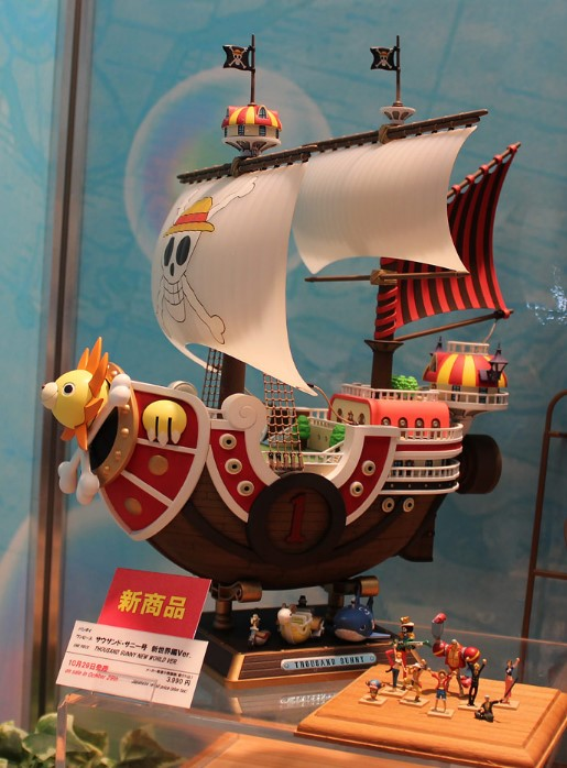 One Piece Thousand Sunny New World Ver.