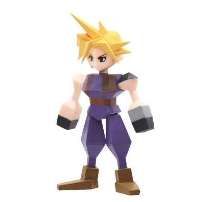 Square Enix Final Fantasy VII Polygon Figure Display (Complete Set)