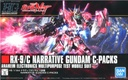 HG Narrative Gundam C-Packs #222
