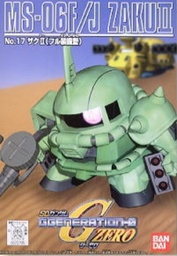 [SD] SD G Generation Zaku II MS-06F/J #17
